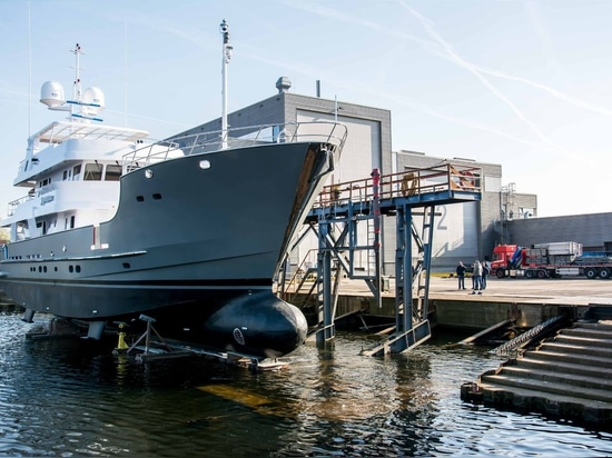 Balk Shipyard relaunches 31m 'Sandalphon' following major refit