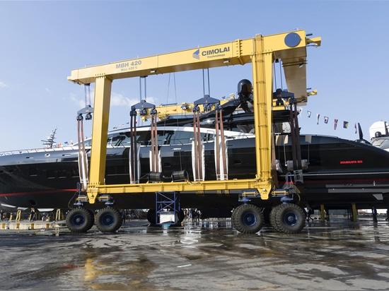 Overmarine launches 12th Mangusta 165