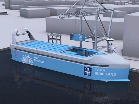 The first ever zero emission, autonomous ship