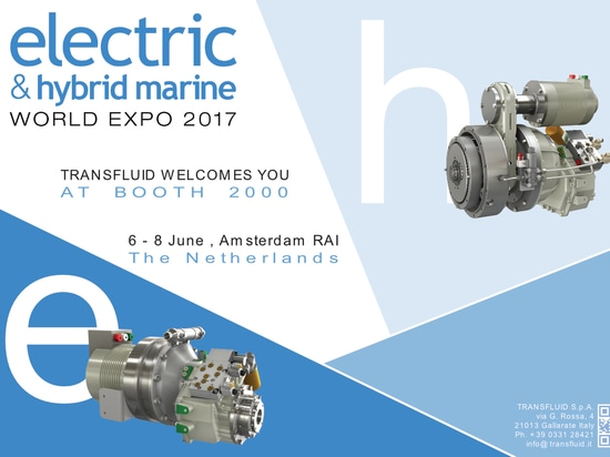 Transfluid at the Electric & Hybrid Marine World Expo 2017