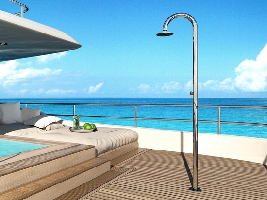 Inoxstyle Sole 60 Y DB BC M Beauty - Stainless Steel Shower for yachts
