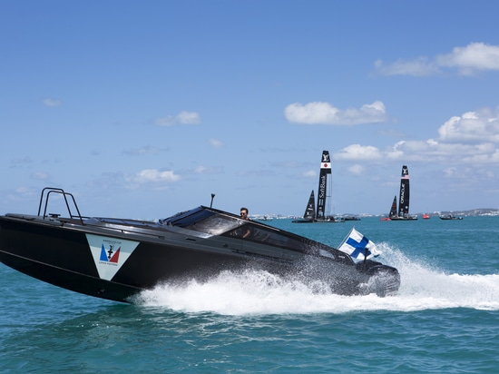 OFFICIAL MEDIA  BOAT FOR THE 35TH AMERICA'S CUP