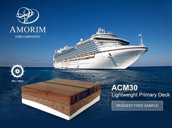 Lightweight IMO/MED Certified Deck Covering
