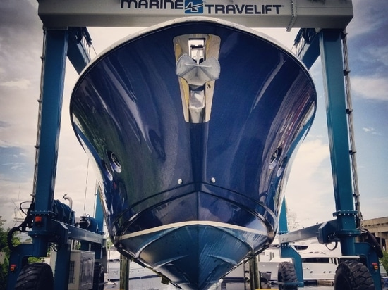 MARINA MILE INVESTS IN FUTURE BUSINESS OPPORTUNITIES WITH ADDITION OF 75 BFMII MARINE TRAVELIFT