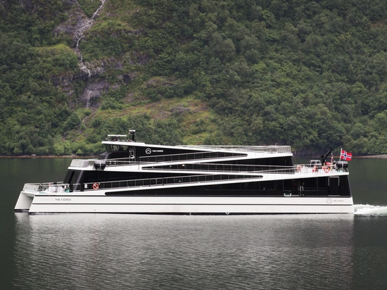 MS Vision of the Fjords has an innovative design and drive - © Emil Rasmussen