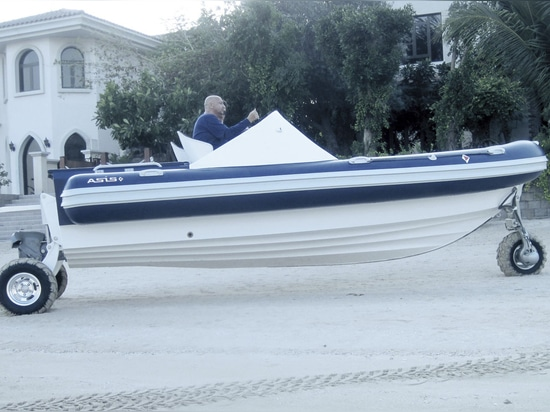 Amphibious range by Asis Boats