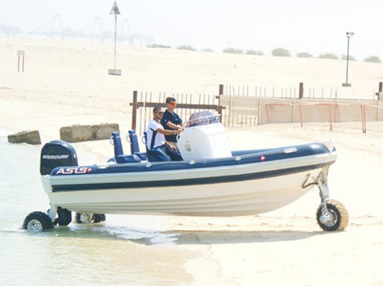 ASIS Amphibious Boat is making waves in boating industry after the launching of the first ASIS Amphibious boat