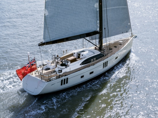 Oyster 745, courtesy of Oyster Yachts