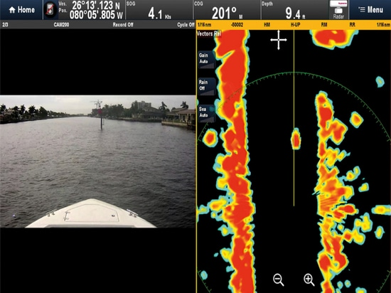 Courtesy of Raymarine