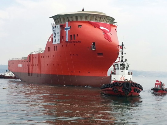 NEW: offshore support vessel by Cemre Shipyard