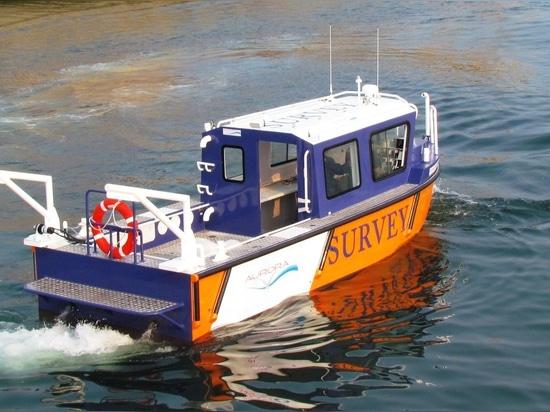 NEW: hydrographic survey boat by aurora (dalian) yachts co ltd