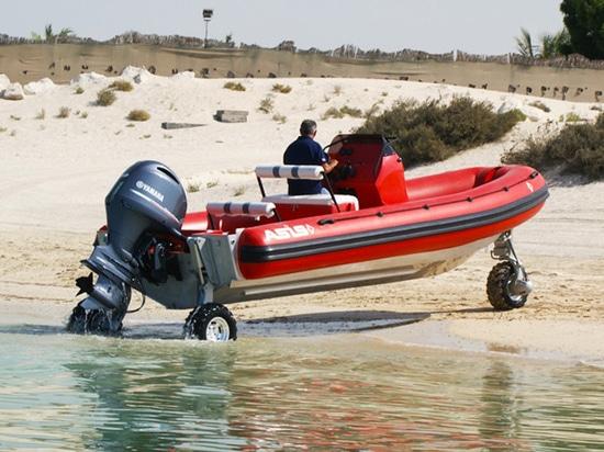 ASIS Fire Rescue Amphibious craft