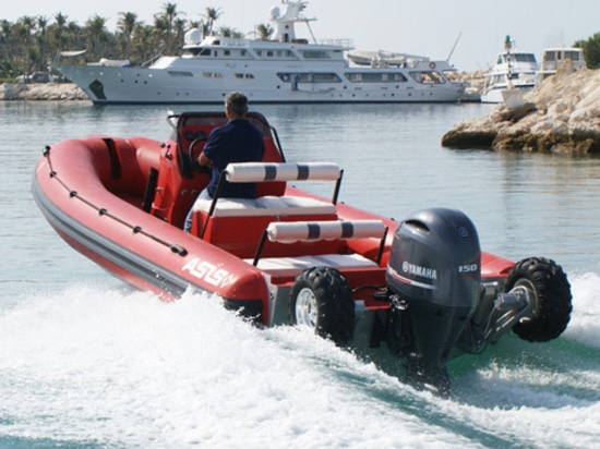 A Fire Department in Shanghai Receives ASIS 7.1M Amphibious Craft
