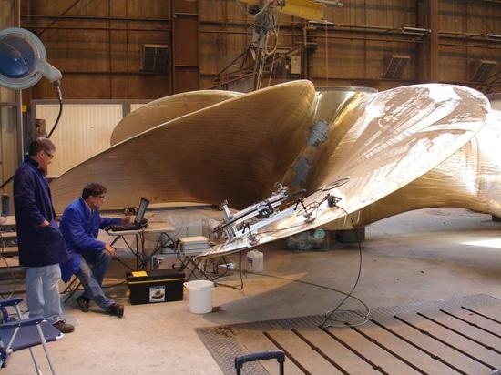 3D printed ship propeller (Courtesy of Builbytes)