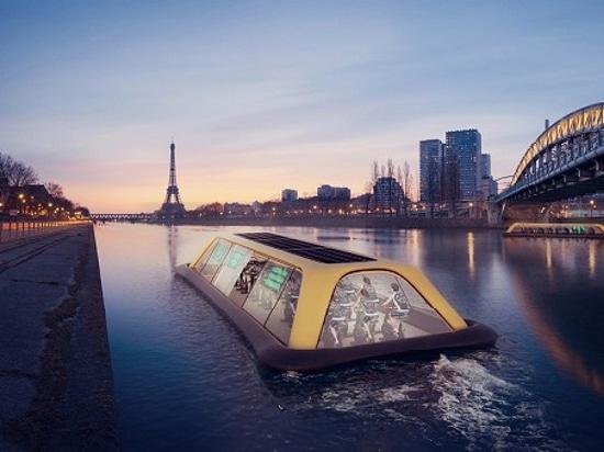 The Paris Navigating Gym project (Courtesy of Carlo Ratti Associati)