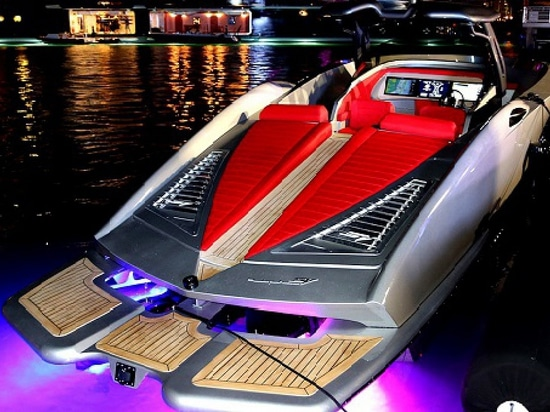 The SV Yachts Alpha is capable of over 80 knots (Courtesy of SVY)