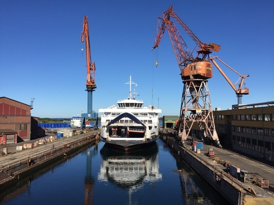 HH Ferries Tycho Brahe will be the first to be converted (Courtesy of ABB)
