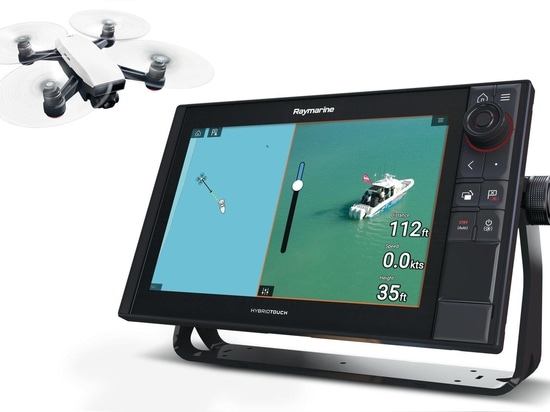 Raymarine MFD apps three ways: from drone control to sat comms to video streaming