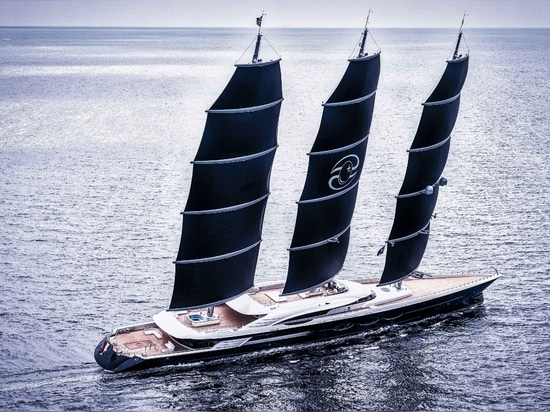 World's largest DynaRig sailing yacht delivered