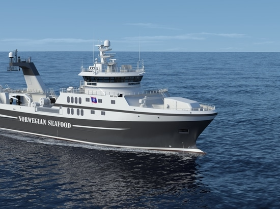New trawler vessel to be equipped with Rolls-Royce hybrid propulsion system