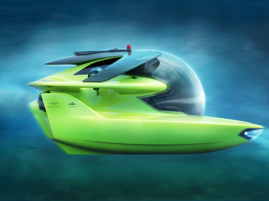 Triton Submarines and Aston Martin complete design phase for all-electric deep-diving submersible