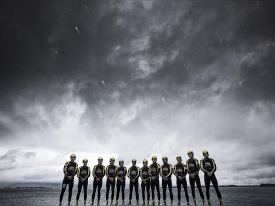 Artemis Racing team (Courtesy of Sander van der Borch)