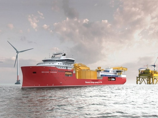 ULSTEIN VERFT TO CONSTRUCT LARGE CABLE LAYING VESSEL FOR NEXANS