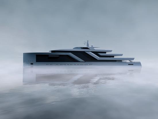 Isaac Burrough Design unveils new 100m concept