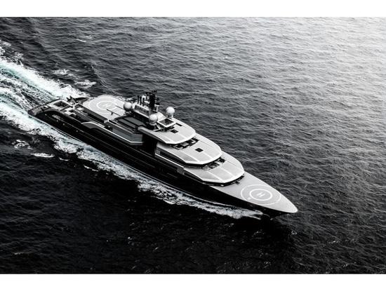 Lürssen delivers 135m superyacht Crescent
