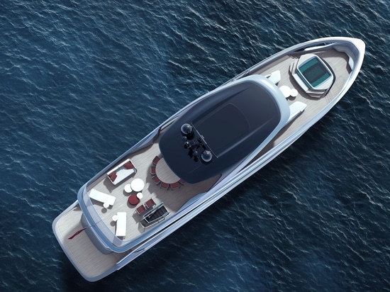 Closer look at the Princess X95 superyacht project