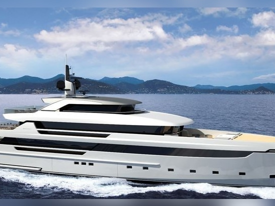 Sanlorenzo welcomes new 62Steel superyacht at La Spezia shipyard