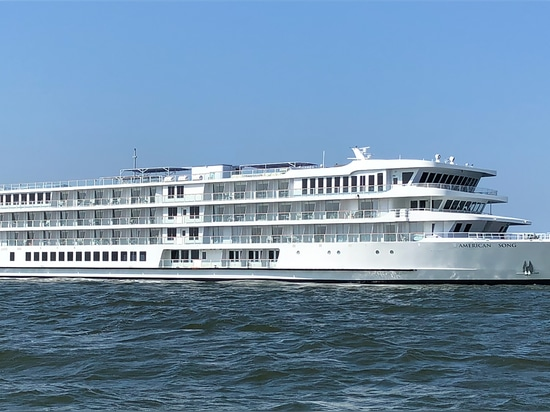 New riverboat will sail on its inaugural voyage from New Orleans to Memphis, Tenn., on Oct. 6. American Cruise Lines photo