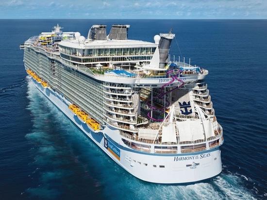 The Harmony of the Seas (Courtesy of Royal Caribbean International)