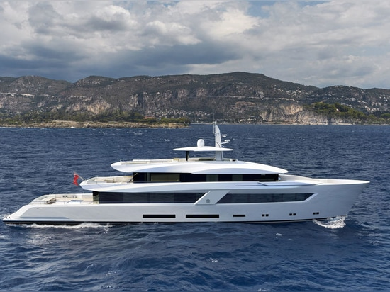 Lürssen begins construction on new 54m Project Moon Sand
