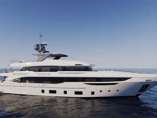 Benetti reveals new Diamond 145' superyacht