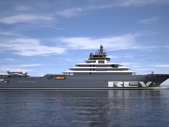 OceanLED will supply specialised underwater lights for the 'Rev Ocean' Photo: OceanLED