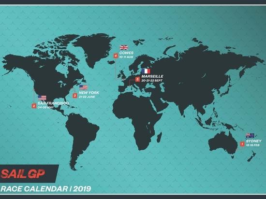 SailGP global racing league unveiled at spectacular London launch