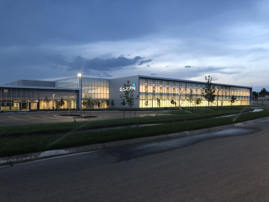 Garmin opens new manufacturing facility