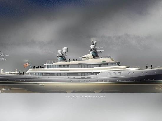 LP Design UK presents ocean liner inspired 75 metre explorer concept