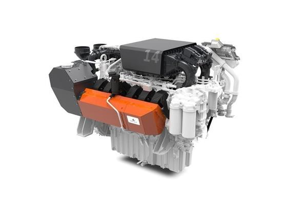 The W14 engine is designed to serve both propulsion and auxiliary gensets. Credit: Wärtsilä/ Liebherr