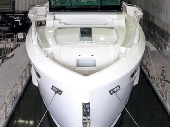 Horizon Yachts FD77 model nears completion