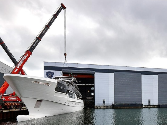 Heesen 55m Project Antares launched