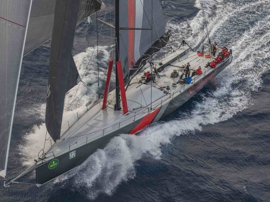 Currently being shipped to the Caribbean from Australia, the 100 SHK Scallywag will make up a big boat bonanza at this year's Antigua Sailing Week © Rolex / Daniel Forster