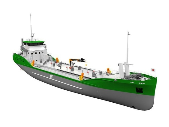 499 gt tanker will be powered by lithium-ion batteries