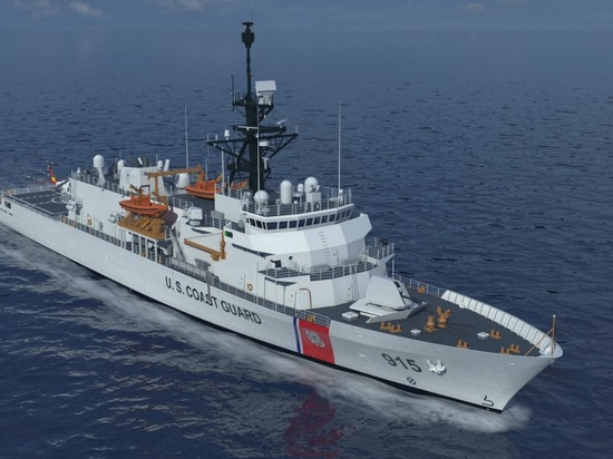 Rendering of the offshore patrol cutter. Eastern Shipbuilding Group image.