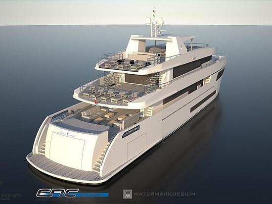 Revealed: The Ocean Queen 150 yacht from Ocean King