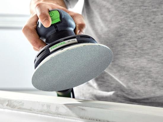 Granat Net: Festool's new abrasive pads promise improvement for sanding jobs.