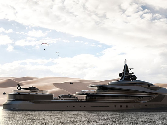 Oceanco unveils 105 metre expedition yacht Esquel