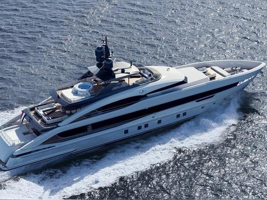 Heesen reveals first 5000 Aluminium superyacht Project Aquamarine