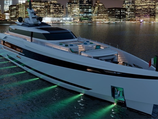 Hull and superstructure set to be joined on Columbus S50